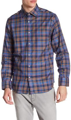 James Tattersall Classic Fit Print Woven Shirt