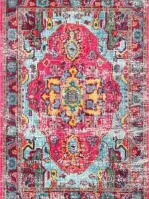 nuLoom Vintage Corbett Multi Traditional Area Rug
