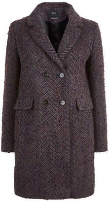 SET Textured Wool Coat