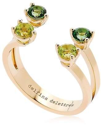 Delfina Delettrez Green Dots Ring