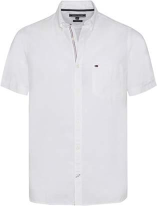 Tommy Hilfiger Men's Engineered Short Sleeve Shirt