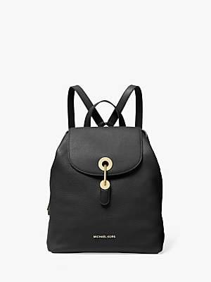 Michael Kors MICHAEL Raven Leather Backpack