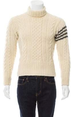 Thom Browne Wool Turtleneck Sweater