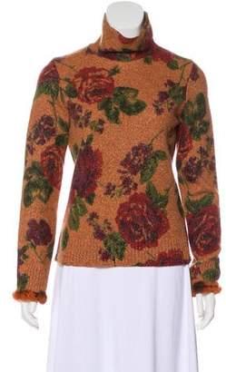 Etro Metallic-Accented Wool Sweater