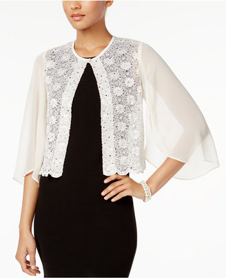Connected Sequined Lace Jacket $49 thestylecure.com
