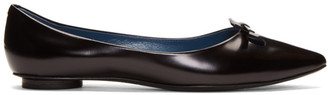 Marc Jacobs Black Redux FW98 The Mouse Shoe Ballerina Flats
