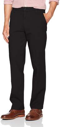 Dockers Straight Fit Workday Khaki Smart 360 Flex Pants D2, New British (Stretch)