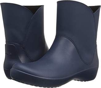 Crocs Women's Rainfloe Bootie Rain Boot