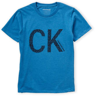 Calvin Klein Jeans Boys 8-20) Short Sleeve Logo Tee
