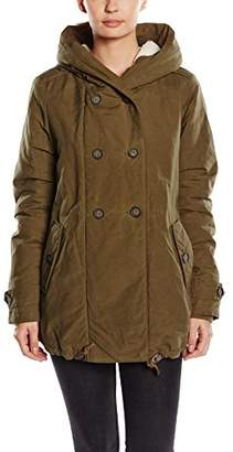 Noppies Women's Hooded Long Sleeve Maternity Jacket - Green
