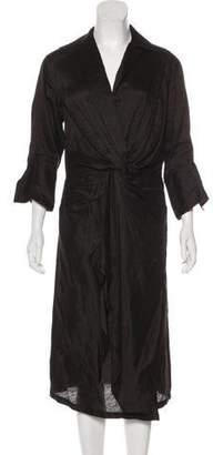 Ter Et Bantine Linen & Silk-Blend Dress