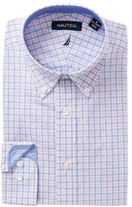 Nautica Shell Check Classic Fit Dress Shirt