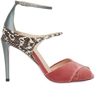 Fendi ankle strap sandals