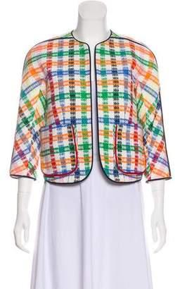 Thom Browne Woven Plaid Jacket
