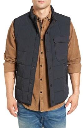 Men's Jeremiah Quilted Vest $118 thestylecure.com