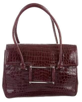 Lambertson Truex Alligator Shoulder Bag