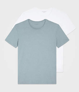 AllSaints Figure Crew T-Shirt Two Pack