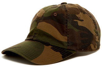 American Needle Washed Camo Baseball Cap $12.97 thestylecure.com