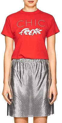 "Monogram Women's ""Chic Freak"" Cotton T-Shirt"