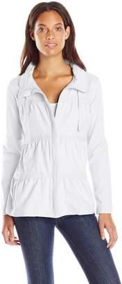 Neon Buddha Women's Sassy Ruffle Jacket