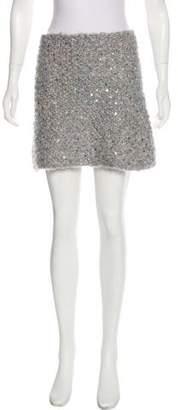 Eileen Fisher Mohair Mini Skirt w/ Tags