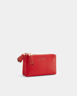Ted Baker JOLETTE Tassel double leather coin purse