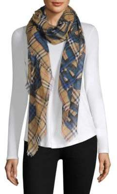 Burberry Graffiti-Print Scarf
