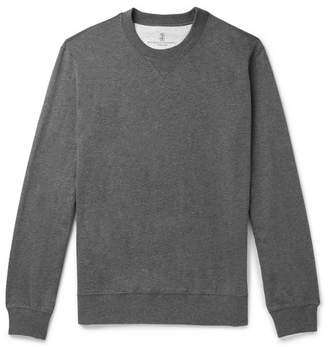 Brunello Cucinelli Cotton-Jersey Sweatshirt