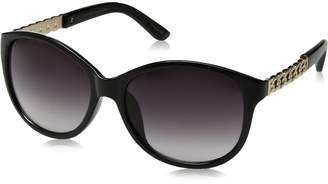 Big Buddha Women's Blane Rectangular Sunglasses