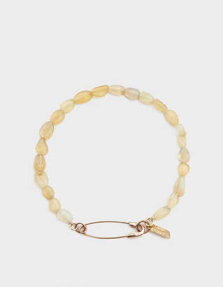 Loren Stewart Opal Safety Pin Bracelet