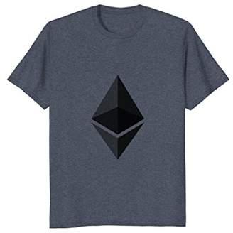 Rainbow Light Ethereum Alt Coin Prism Bitcoin T-Shirt