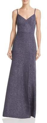 Eliza J Textured Shimmer Gown