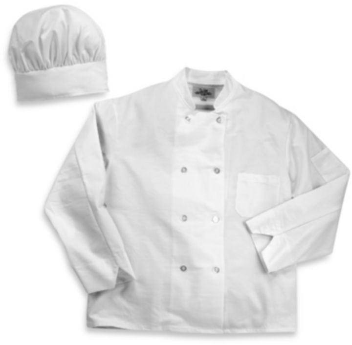 Bed Bath & Beyond Chef's Jacket and Hat