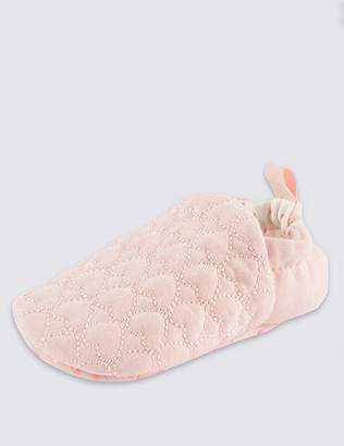 Marks and Spencer Baby Heart Pull-on Pram Shoes