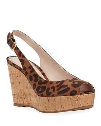 6cd18ab634c Stuart Weitzman Slingback Wedge Women s Sandals - ShopStyle