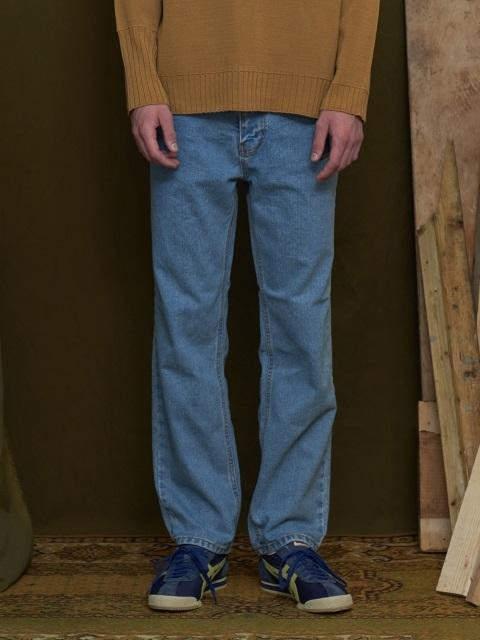Pin Tuck Jeans Light Blue
