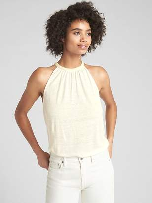 Gap Swing Halter Cami in Linen Jersey