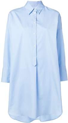 Alberto Biani oversized shirt dress