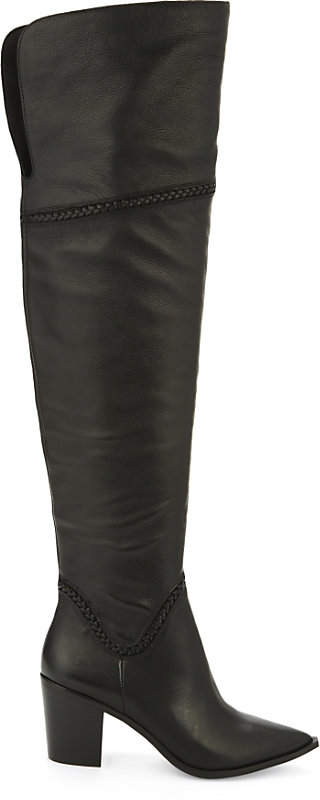Aldo Olena leather over-the-knee boots