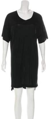 Baja East Knee-Length T-Shirt Dress