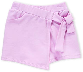 Art & Eden (Girls 4-6x) Lilac Lilly Tie-Waist Skort
