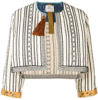 Forte Forte embroidered cropped jacket