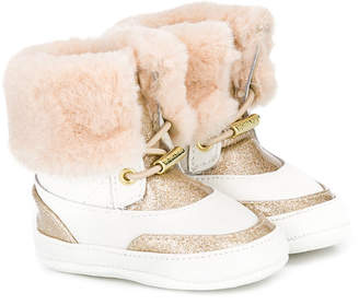 Michael Kors Kids furry booties