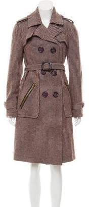 Marc by Marc Jacobs Tweed Wool Coat