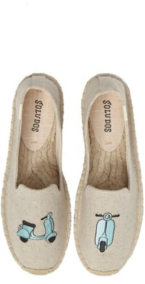 Women's Soludos Scooter Espadrille Loafer $74.95 thestylecure.com