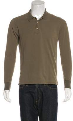 Boglioli Long Sleeve Polo Shirt