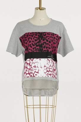 adidas by Stella McCartney Leopard print T-shirt