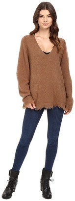 Free People Irresistable V Sweater $118 thestylecure.com