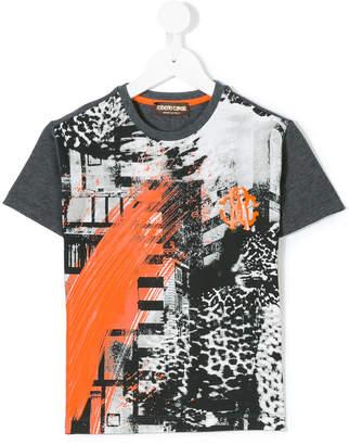 Roberto Cavalli (ロベルト カヴァリ) - Roberto Cavalli Kids プリント Tシャツ