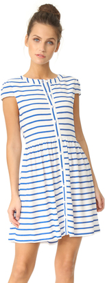 alice + olivia York Button Down Dress $264 thestylecure.com